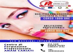 Corso Qualifica professionale ESTETISTA